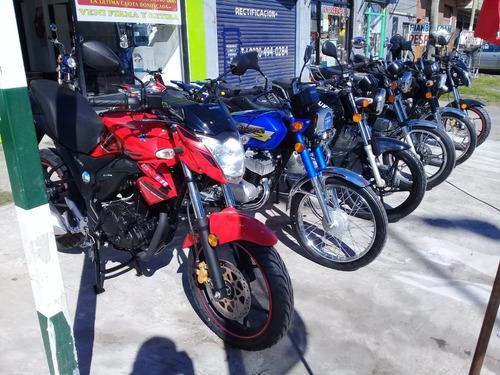 suzuki ax 100cc 0km - azul, gris, negro, rojo
