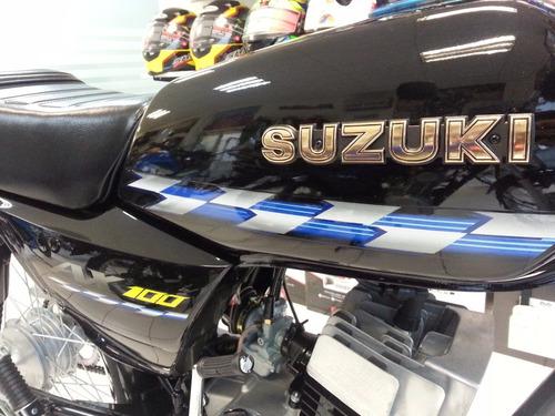 suzuki ax100 2018 divertido y potente motor 2 tiempos
