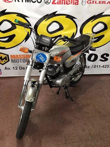 suzuki ax100 ax 100 0km nueva 2017 calle 2t moto