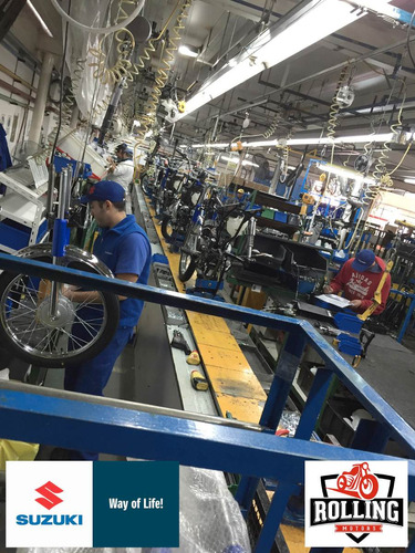 suzuki ax100 azul 0km motos 2018
