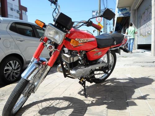 suzuki ax100 motos march (cod.043)