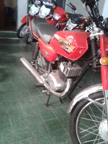 suzuki ax100 rojo