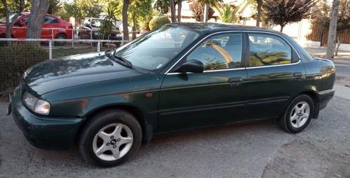 suzuki baleno motor 1.6 año 1998 verde 5 puertas
