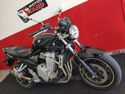 suzuki bandit 1250 n 1250n 2011 preta preto