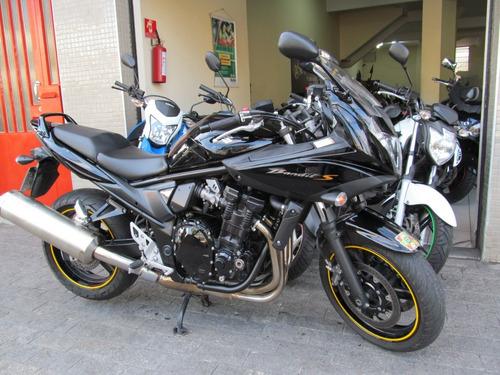 suzuki bandit 650s 2011 preta