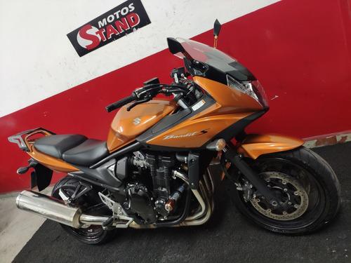 suzuki bandit 650s 650 s 2016 laranja