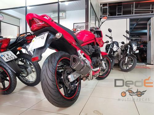 suzuki bandit 650s vermelho 2008