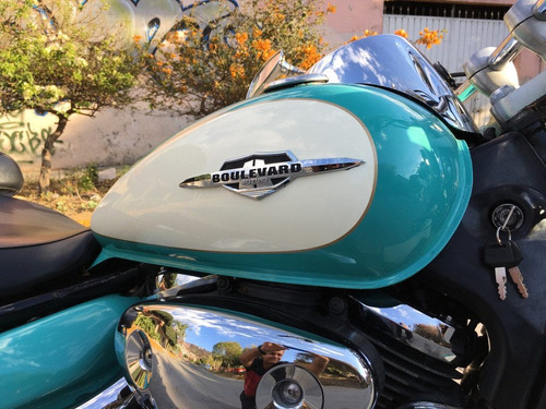 suzuki boulevard 800 c-50 modelo 2006.... super retro ¡¡¡