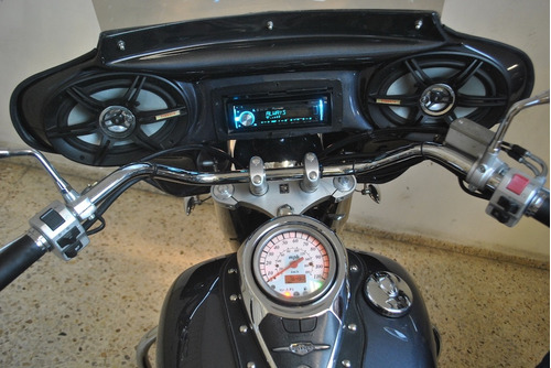 suzuki boulevard stereo y bocinas c50 800cc modelo 2006