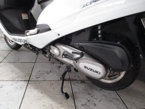 suzuki burgman 125 branca 2013