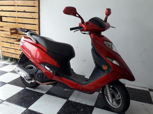 suzuki burgman 125 i 2012 vermelha tebi motos
