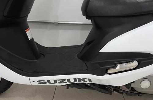 suzuki burgman 125 i branca 2016