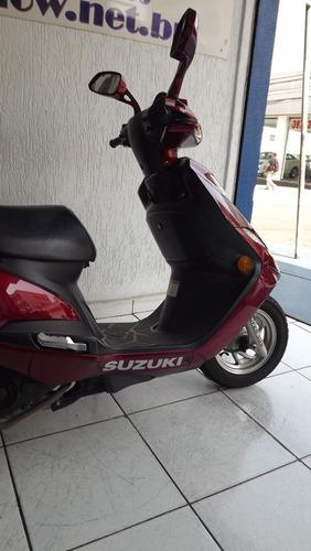suzuki burgman 125i 2015 vermelha