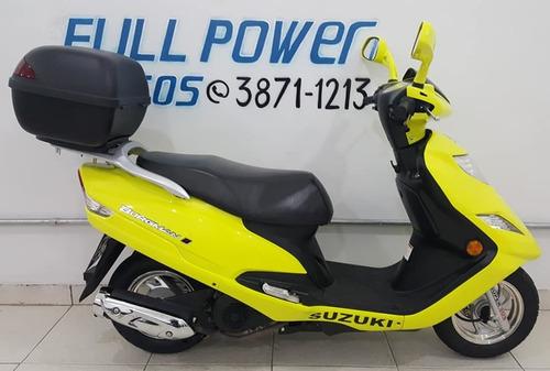 suzuki burgman 125i amarela 2013/2013