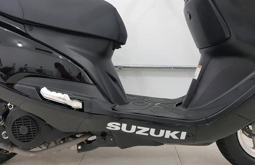 suzuki burgman 125i preta 2017/17