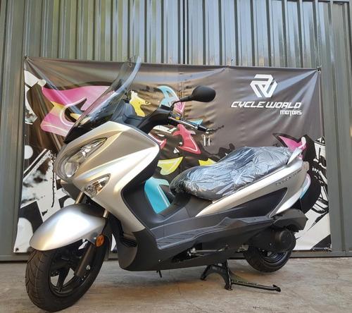 suzuki burgman 200 maxi scooter 0km 2018 22/02 dolar a 66
