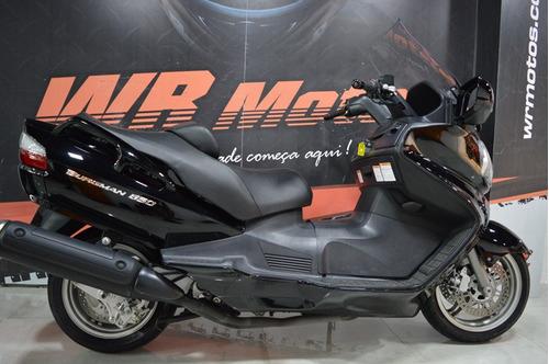 suzuki - burgman 650 - 2014