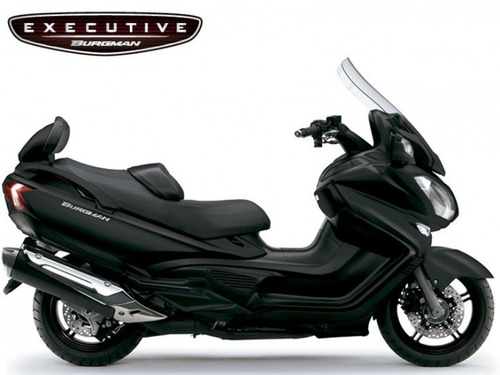 suzuki burgman 650 executive 2018/2019 preto