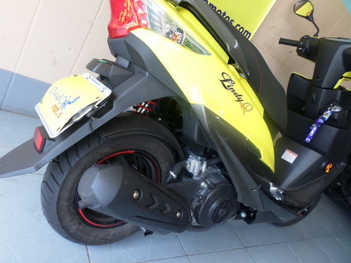 suzuki burgman haojue lindy 125 2019 amarela amarelo