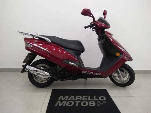 suzuki burgman i 125cc impecável, baixa km, doc. 2019 ok