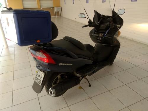 suzuki burman 400 maxi scooter um  landau  na estrada