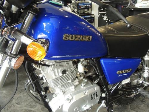 suzuki custom gn 125 0kmchopera tarjeta cuotas fijas 100%