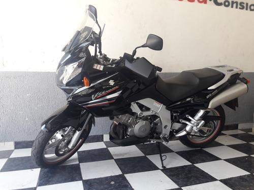 suzuki dl 1000 v-strom 2005 preta impecável tebi motos