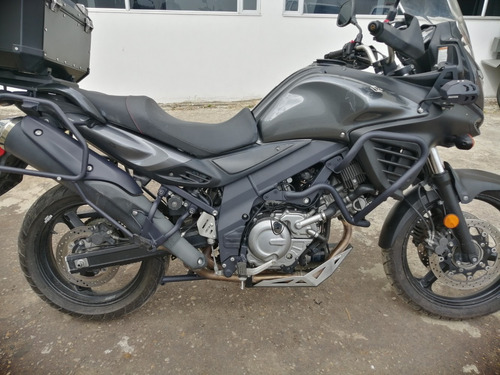 suzuki dl650a negra, full