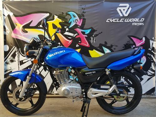 suzuki en 125 0km 2018 cycle world motors al 7/12