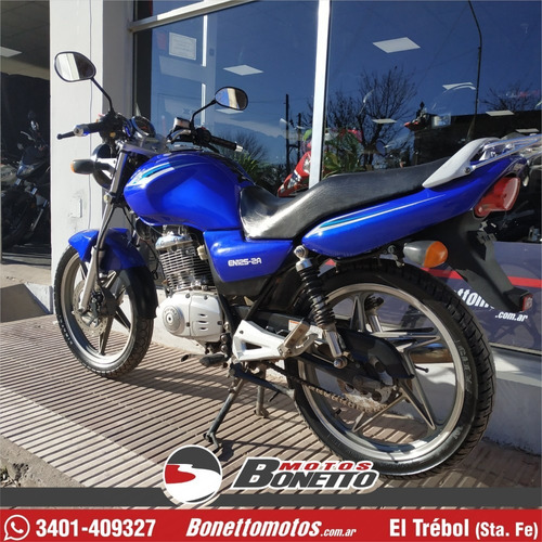 suzuki en 125 full 2014 - bonetto motos