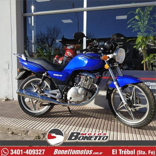 suzuki en 125 full 2014 - bonetto motos