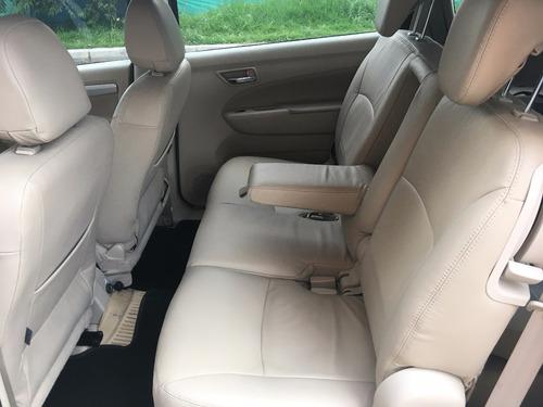 suzuki ertiga 2017 automatica asientos de cuero