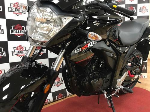 suzuki gixxer 150 0km motos 2018 tipo yamaha fz16