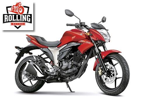 suzuki gixxer 150 0km rojo moto 2017 tipo yamaha fz16