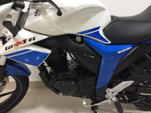 suzuki gixxer 150 150cc 2016 usada 800km