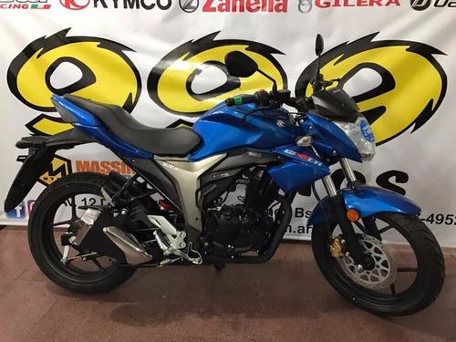 suzuki gixxer 150 calle moto nacked fz 0km okm 2018