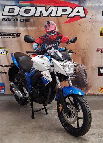 suzuki gixxer 150 muy buen estado calle permuta dompa motos