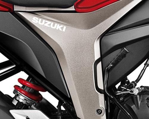 suzuki gixxer 2021  - financiable