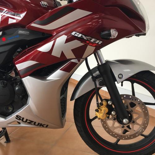 suzuki gixxer sf fuel injection financiación, estrena!