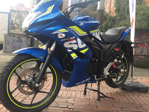 suzuki gixxer sfi  (fuel injection)- financiación
