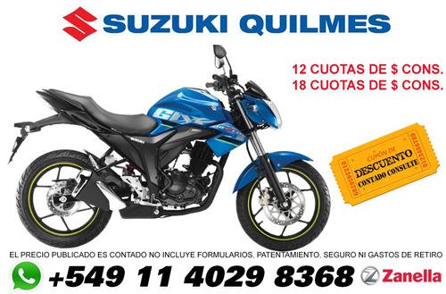 suzuki gixxer usada 2018 suzuki quilmes whatsapp 1140298368