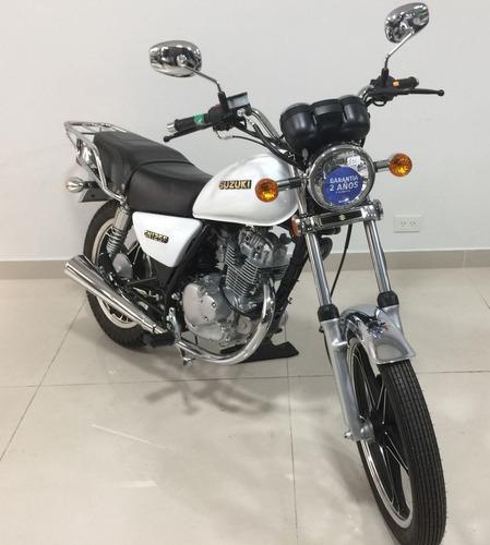 suzuki gn 125 125cc 2018 0km linea nueva