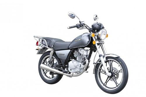 suzuki gn 125 18 cuotas de $ 5275 oeste motos