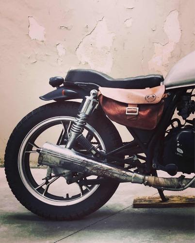suzuki gn 125 café racer custom