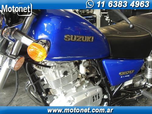 suzuki gn 125 chopera custom 0km liquidacion fin de año