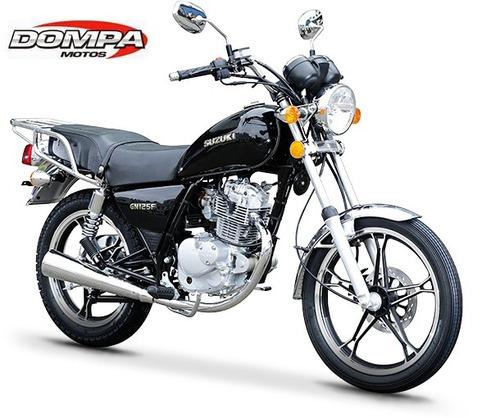 suzuki gn 125 f 0km custom 125 c.c calle dompa motos