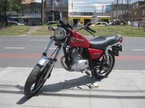 suzuki gn 125 modelo 2007 unico dueño