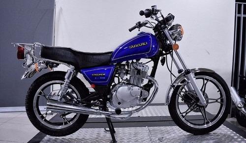 suzuki gn 125  retira ya en motolandia