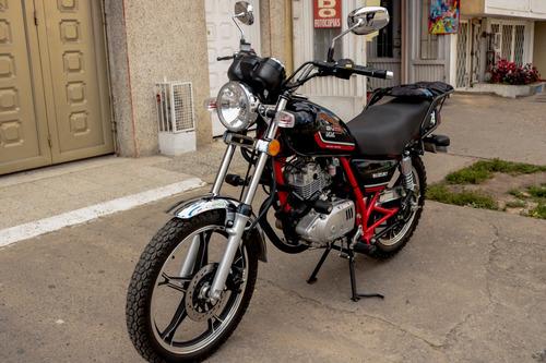 suzuki gn 125 version van van modelo 2018