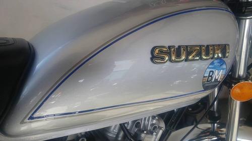 suzuki gn 125cc 2016 solo con dni- aprob telefonica